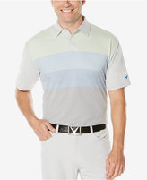 Callaway Men's Colorblocked Pixel-Print Polo