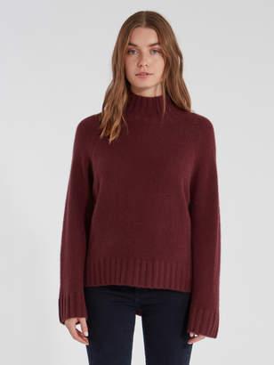 360 Cashmere 360cashmere Margaret Turtleneck Cashmere Sweater