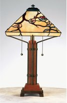 Quoizel Grove Park Tiffany 2 Light Table Lamp [Tools & Home Improvement]