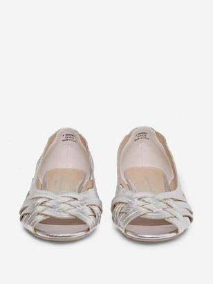 Dorothy Perkins Wide Fit Pearlene Pumps- Silver