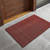 "Crate & Barrel Chilewich ® Red Striped 20""x36"" Doormat"