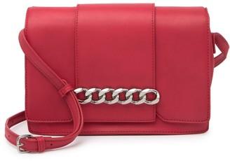 Urban Expressions Vegan Leather Chain Crossbody Bag