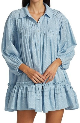 Free People Full Flounce Swing Dress