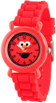 Sesame Street Boys Red Strap Watch-Wss000027