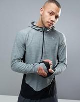 Puma 1/4 Zip Sweat In Grey 51435101