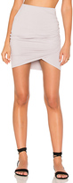 Michael Stars Cross Front Skirt in Lavender. - size L (also in )