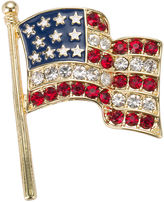 Gloria Vanderbilt Boxed Flag Pin