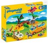 Playmobil 5047 1.2.3 Safari Set