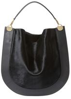 Diane von Furstenberg Large Leather Hobo Bag