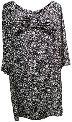 Sandro Spring Summer 2018 Black Cotton Dress for Women