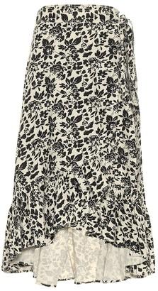 Polo Ralph Lauren Floral linen midi skirt