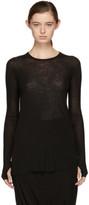 Boris Bidjan Saberi Black Long Sleeve 1 T-shirt