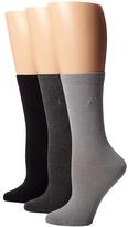 Lauren Ralph Lauren Classic Flat Knit Trouser 3 Pack