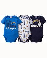 Gerber Babies' San Diego Chargers 3-pack Bodysuit