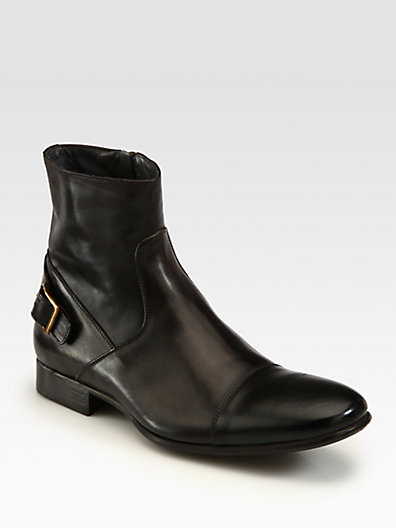 To Boot Halt Buckle-Back Boots