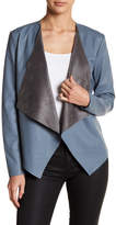 Fate Open Front Asymmetrical Jacket
