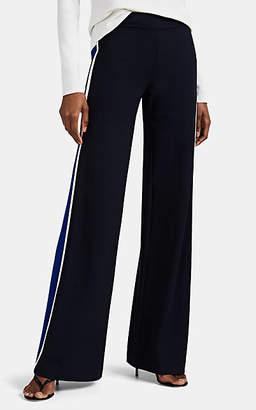 Derek Lam Women's Charlee Wide-Leg Tuxedo Trousers - Navy