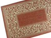American Mills Entwined Polypropylene Indoor/Outdoor Area Rug, 3-Feet 7-Inch by 5-Feet 7-Inch, Terracotta