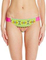 Hawaiian Tropic Women's Aztec Bikini Bottom Pink