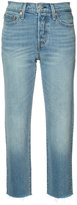 Levi's straight cropped jeans - women - Cotton/Spandex/Elastane - 26