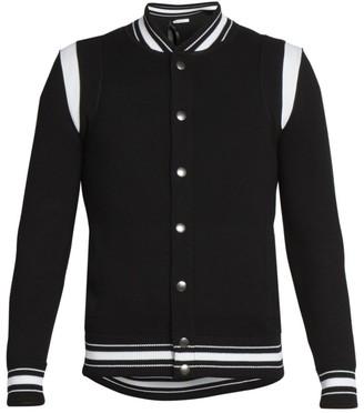 Givenchy Virgin Wool Bomber Jacket