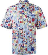 Prada printed shortsleeved shirt - men - Cotton - S