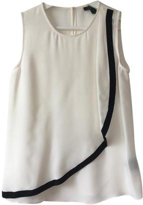 Lauren Ralph Lauren White Silk Top for Women