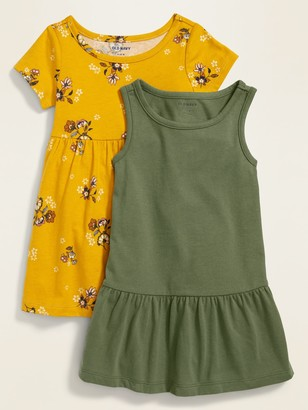 Old Navy Jersey-Knit Dress 2-Pack for Baby