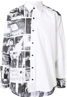 Enfants Riches Deprimes Photographic-Print Shirt
