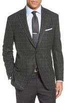 Peter Millar 'Flynn' Classic Fit Plaid Wool & Cashmere Sport Coat