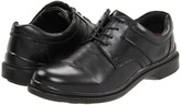 Hush Puppies Claxton (Black Leather) - Footwear