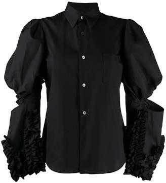 Comme des Garcons Juliet sleeve shirt