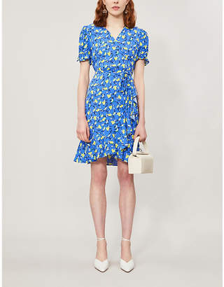 Diane von Furstenberg Emilia crepe mini dress