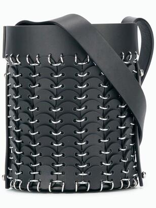 Paco Rabanne small bucket bag