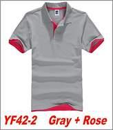 Magic Show 2015 Mens hit color Golf Polo Running Sports T-shirt 13 Colors YF42 (L, )