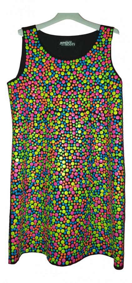 Jeremy Scott Multicolour Cotton - elasthane Dresses