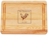 The Well Appointed House Personalized Rooster Cutting Board-Available in Three Different Sizes