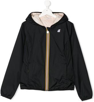 K Way Kids TEEN lightweight hooded jacket