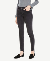 Ann Taylor Petite Step Hem All Day Skinny Jeans in Sienna Wash