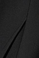 Roland Mouret Eumorpha paneled stretch-knit mini dress