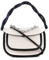 Marni Women's White Leather Handbag.