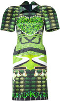 Mary Katrantzou Jade Garden Tea Party Print Dress