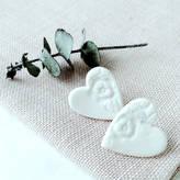 Monroe Abby Lace Heart Earrings