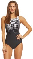 Reebok Women's Electric Express High Neck One Piece Swimsuit 8151513