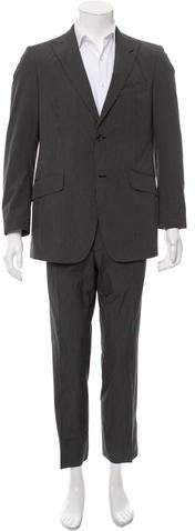 Etro Striped Two-Piece Suit
