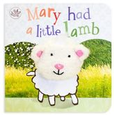 """Mary Had A Little Lamb"" Little Learners Finger Puppet Board Book"
