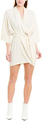 IRO Lilya Linen & Silk-Blend Dress