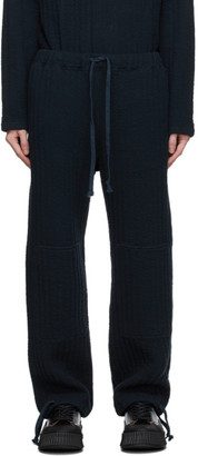 ts(s) tss Navy Knee Patch Training Lounge Pants