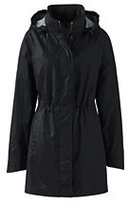 Classic Women's Transitional Spring Coat-Black