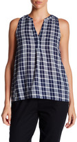 Soft Joie Carley B Plaid Tank